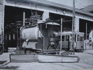 Die trambahn st gallen for Depot st gallen